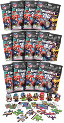 Party Animal NFL TeenyMates SERIES 8 Color Rush Figurines Mystery Packs (12 Packs)