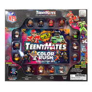 "TeenyMates 1"" NFL Collectible 15 Player Figure 2019 Color Rush Collector Gift Set"