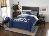 """MLB Los Angeles Dodgers Full / Queen Comforter and Sham Set Size 86"""" x 86"""""""