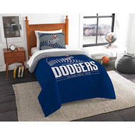 "MLB Los Angeles Dodgers Twin Bed Comforter Set Size 64"" x 86"""