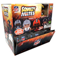 SqueezyMates NFL Gravity Feed Figurines Mystery Box (24 packs) SERIES 2