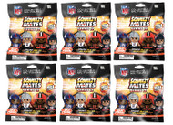 SqueezyMates NFL Gravity Feed Figurines Mystery Pack (6 packs) SERIES 2