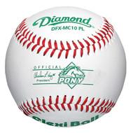 Diamond DFX-MC10 PL Pony Leage Baseballs (Dozen) Level 10 Flexi Ball