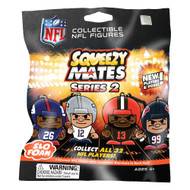SqueezyMates NFL Gravity Feed Figurines Mystery Pack SERIES 2