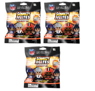 SqueezyMates NFL Gravity Feed Figurines Mystery Pack (3 packs) SERIES 2