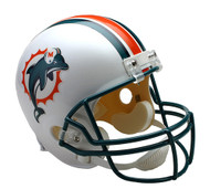 Miami Dolphins Throwback 1997-2012 Riddell Full Size Replica Helmet