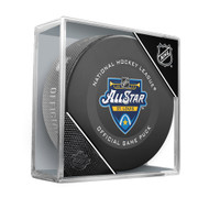2020 NHL All-Star Game Official Hockey Puck in Cube (St. Louis)