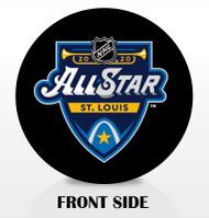 2020 NHL All-Star Game Inglasco Souvenir Hockey Puck - St. Louis