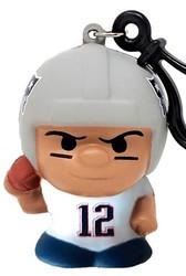 New England Patriots Tom Brady #12 Series 2 SqueezyMates NFL Figurine