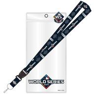 2019 World Series MLB Detachable Lanyard, Pin, & Ticket Holder Set