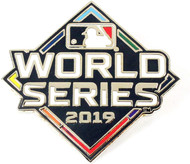 2019 World Series Primary Logo Lapel Pin