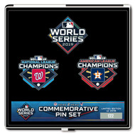 2019 World Series Commemorative Dueling 3 Pin Set - Nationals vs. Astros - Limited Edition 2019