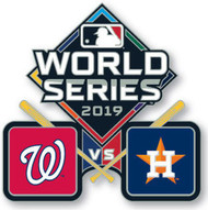 2019 World Series Dueling - Nationals vs. Astros Lapel Pin