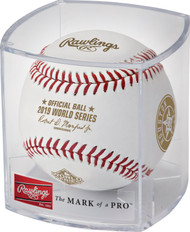 Rawlings 2019 Official World Series Dueling Baseball in Cube - Houston Astros vs. Washington Nationals