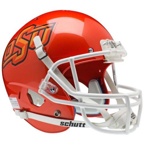 Oklahoma State Cowboys Orange Pearl Schutt Full Size Replica XP Football Helmet