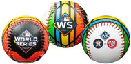 2019 World Series Dueling Souvenir Collectible Replica Baseball by Rawlings - Astros vs. Nationals