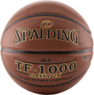 SPALDING TF-1000 Classic ZK Microfiber Composite NFHS Women's High School INDOOR BASKETBALL - 28.5 inch (Intermediate and Women)