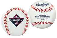 2019 MLB World Series Washington Nationals Champions Collectible Souvenir Replica Baseball by Rawlings