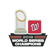 Washington Nationals 2019 World Series Champions Commemorative Lapel Pin
