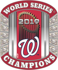 2019 Washington Nationals World Series RING Champions Lapel Pin