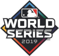 2019 World Series Official Logo Lapel Pin - Nationals vs. Astros
