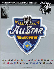 2020 Official NHL All Star Game St. Louis Blues Embroidered Jersey Collectible Patch