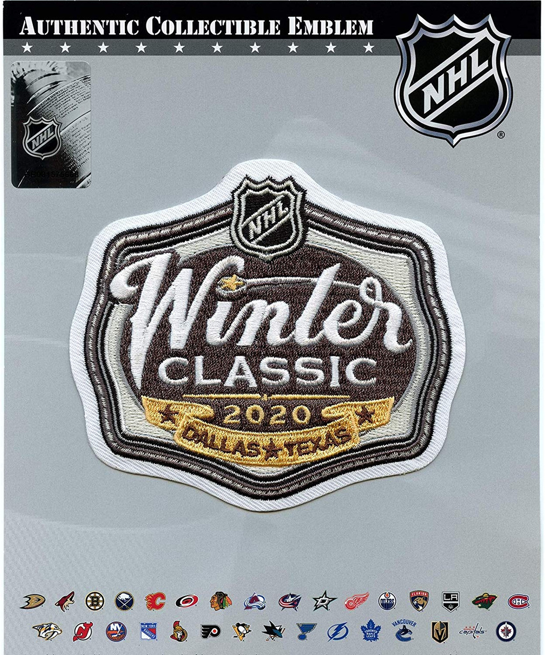 2020 NHL Winter Classic Jersey Patch