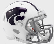 Kansas State Wildcats Alternate White NCAA Revolution SPEED Mini Football Helmet