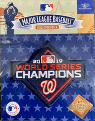 MLB Washington Nationals 2019 World Series Champions Collectors Patch