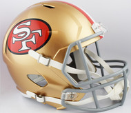 San Francisco 49ers Tribute SPEED Replica Full Size Football Helmet