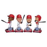MLB Washington Nationals 2019 World Series Champions Mini Bobbleheads 4-pack Set