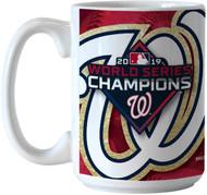 Washington Nationals 2019 World Series Champions 15 Ounce Sublimated Coffee Mug
