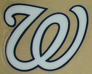 Washington Nationals Full Size Helmet Sticker Decal