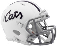 Kansas State Wildcats Alternate Cats White NCAA Revolution SPEED Mini Football Helmet