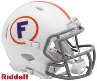 Florida Gators New 2019 White Throwback NCAA Revolution SPEED Mini Football Helmet