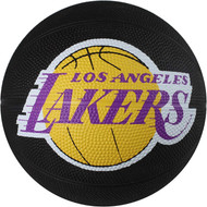 Los Angeles Lakers Spalding NBA Mini Rubber Basketball Size 3 / 22 inch