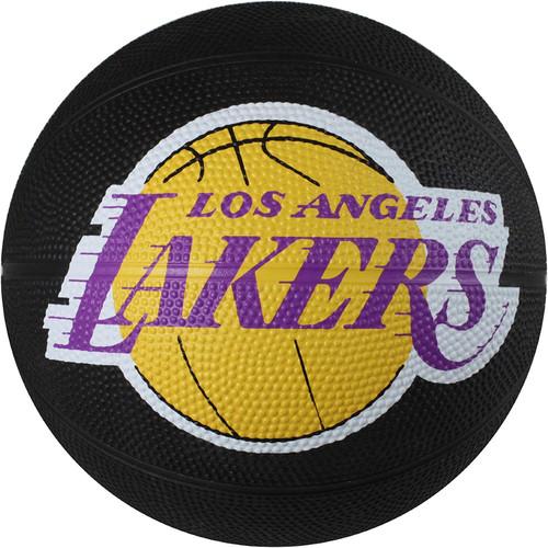 Los Angeles Lakers Spalding NBA Mini Rubber Basketball