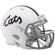 Kansas State CATS White SPEED Riddell Full Size Replica Football Helmet
