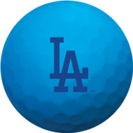 Zero Friction Spectra Dozen Golf Balls Los Angeles Dodgers Neon Blue