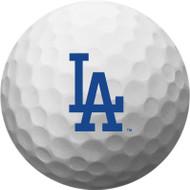 Zero Friction Spectra Dozen Golf Balls Los Angeles Dodgers White