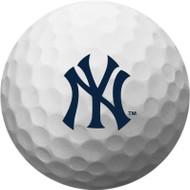Zero Friction Spectra Dozen Golf Balls New York Yankees White