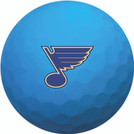 Zero Friction Spectra Dozen Golf Balls St. Louis Blues Neon Blue