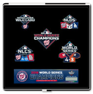 2019 Washington Nationals World Series Champions 5-Piece Boxed Pin Set Limited Edition