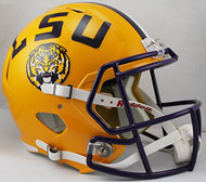 LSU Tigers NCAA SPEED Riddell Full Size Replica Football Helmet