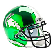 Michigan State Spartans Alternate Chrome Schutt Mini Authentic Helmet