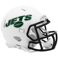 Riddell New York Jets White Flat Matte Alternate Speed Mini Football Helmet