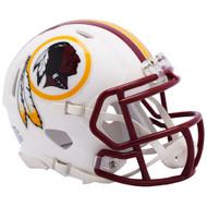Riddell Washington Redskins White Flat Matte Alternate Speed Mini Football Helmet