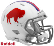 Buffalo Bills Retro Color Rush Revolution SPEED Mini Football Helmet