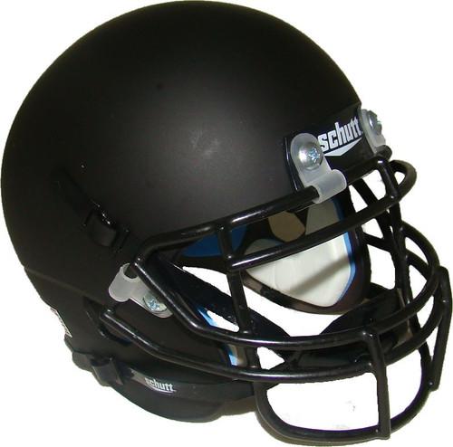 Matte Black Blank Schutt Mini Football Helmet