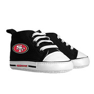 Baby Fanatic Pre-Walker Hightop Shoe - San Francisco 49ers